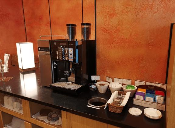 グランドプリンスホテル京都ロイヤルラウンジコーヒー