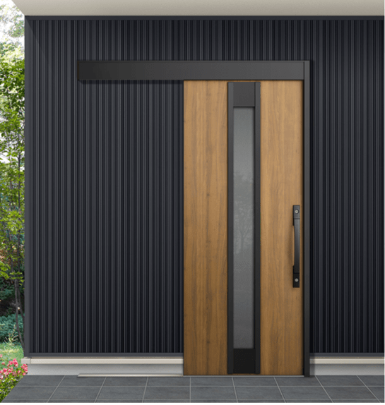 リクシル玄関ドア引き戸エルムーブ2シミュレーション