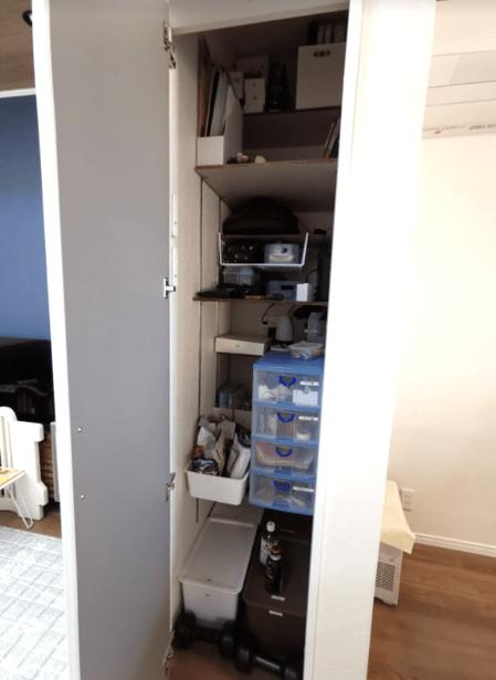 リビング収納可動棚DIY口コミレビュー